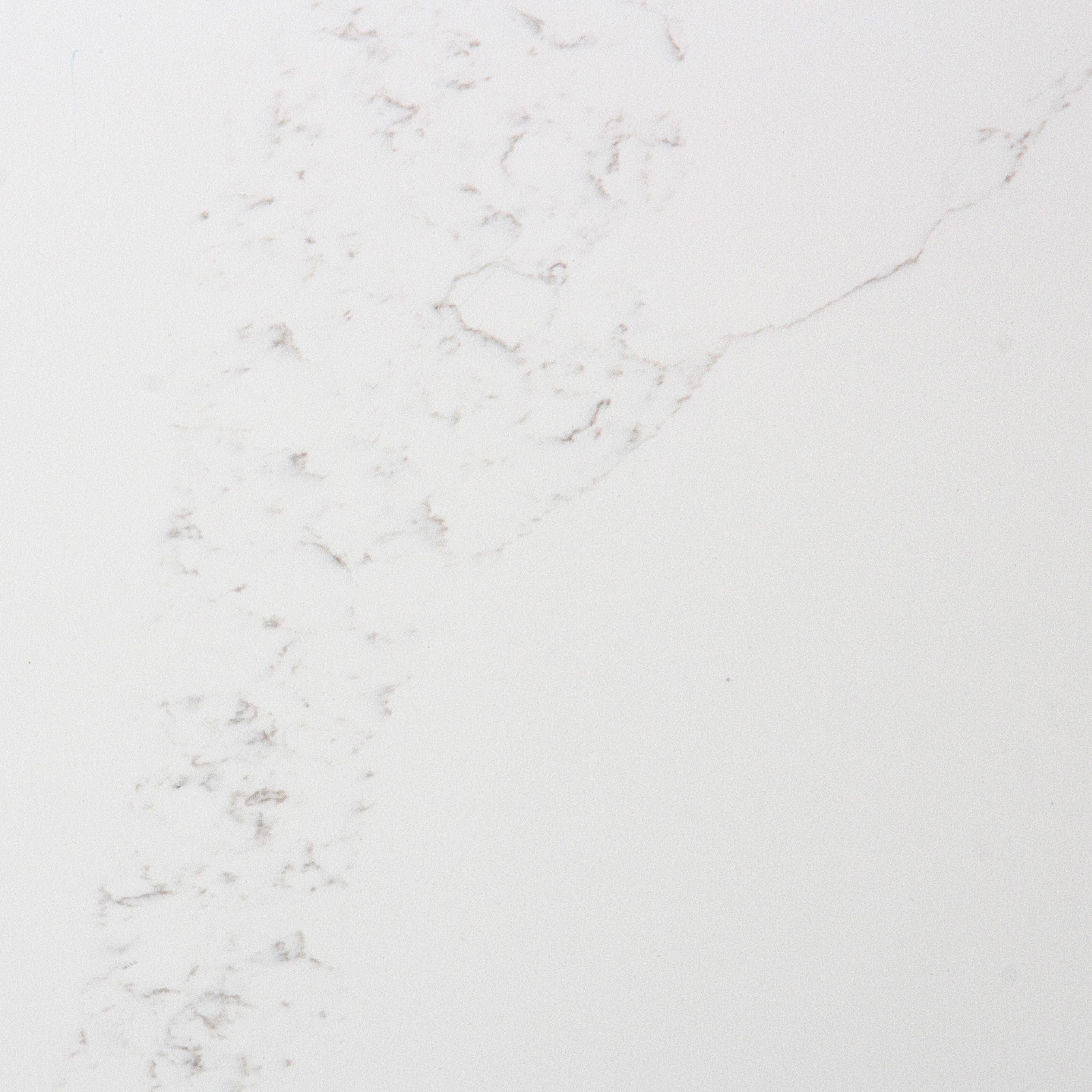 Quartz Top : Newstar Quartz Bathroom Vanity With White Quartz Top