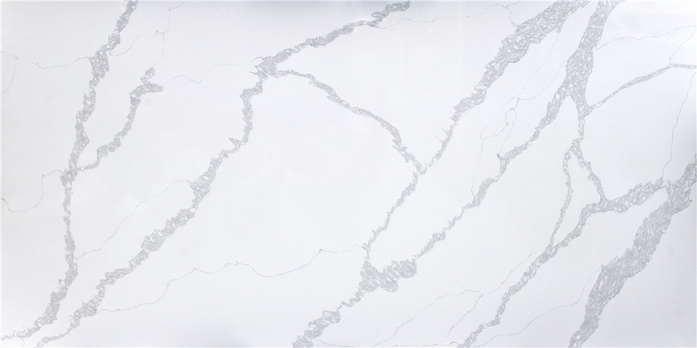 Calacatta Rivers Quartz Countertops from Benyeequartz