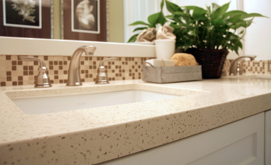 Awesome With Quartz Counters Youu0027re Assured Of Getting A Consistent Color Pattern  Throughout.