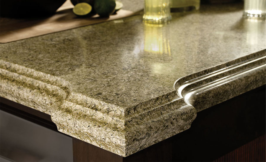 Custom countertops quartz countertop size carmen for Quartz countertop slab dimensions