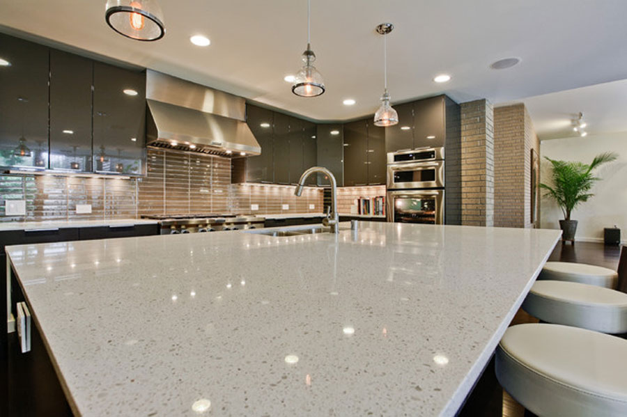Quartz engineered stone custom countertops benyeequartz for Engineered quartz countertops