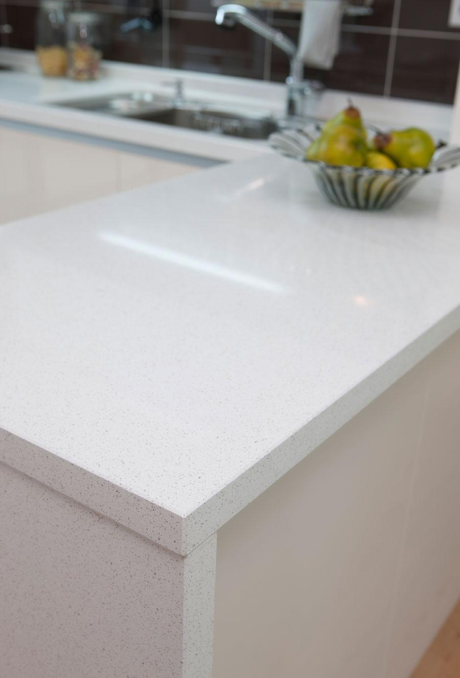 Benyeequartz stone white quartz price chinese supplier for Quartz slab size