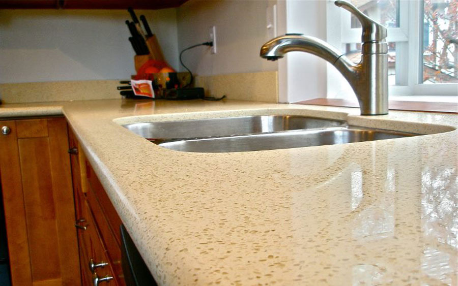 For Kitchen Countertops. Resistant To Scratches And Stains Quartz  Countertops Are Almost Maintenance Free, With The Look Of Natural Stone, ...