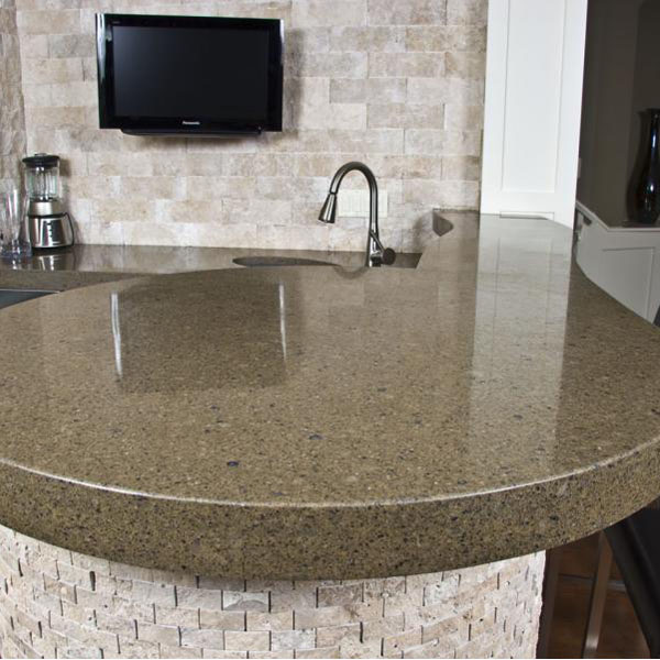 Quartz Kitchen Countertop Surface Materials 2015-11-06