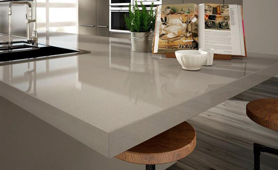 Restaurant Quartz Stone Commercial Kitchen Countertops Latte