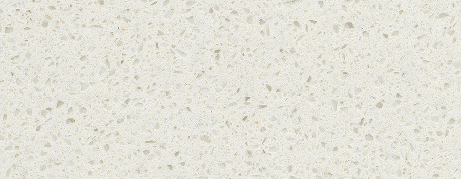 Large Size Sparkle White Quartz Countertop