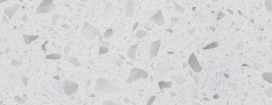 Large Size Sparkle White Quartz Countertop